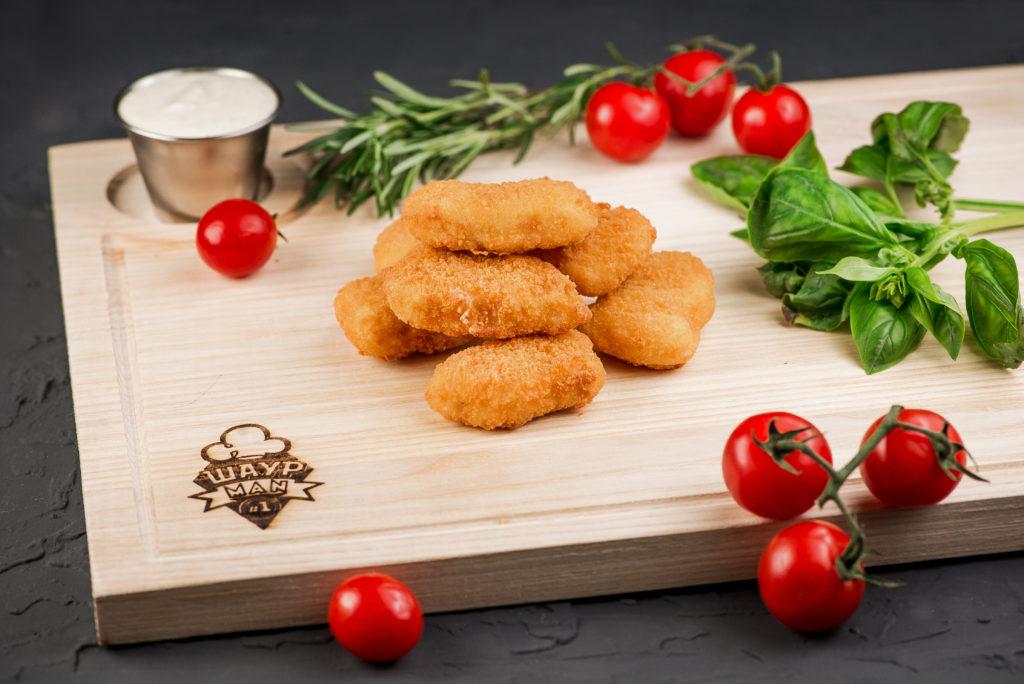 Куриные наггетсы заказать в MisterSandwich
