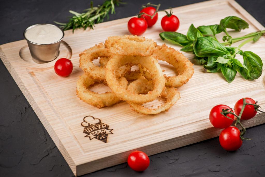 Луковые кольца заказать в MisterSandwich