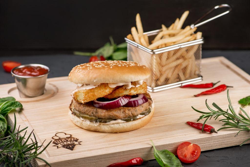 Ранч бургер заказать в MisterSandwich