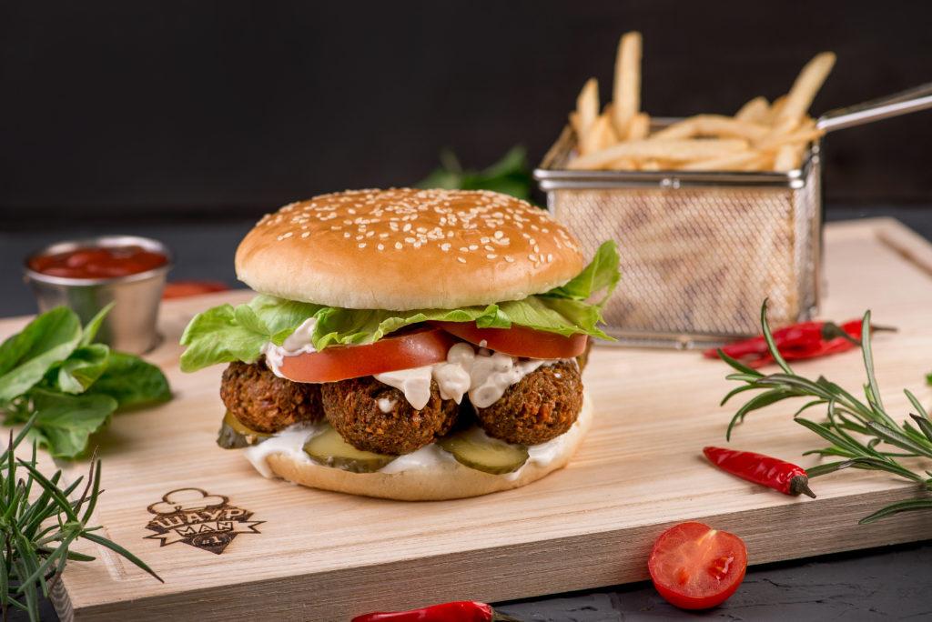 Веджи бургер заказать в MisterSandwich