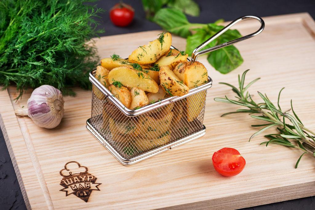 Картофель по-селянски заказать в MisterSandwich
