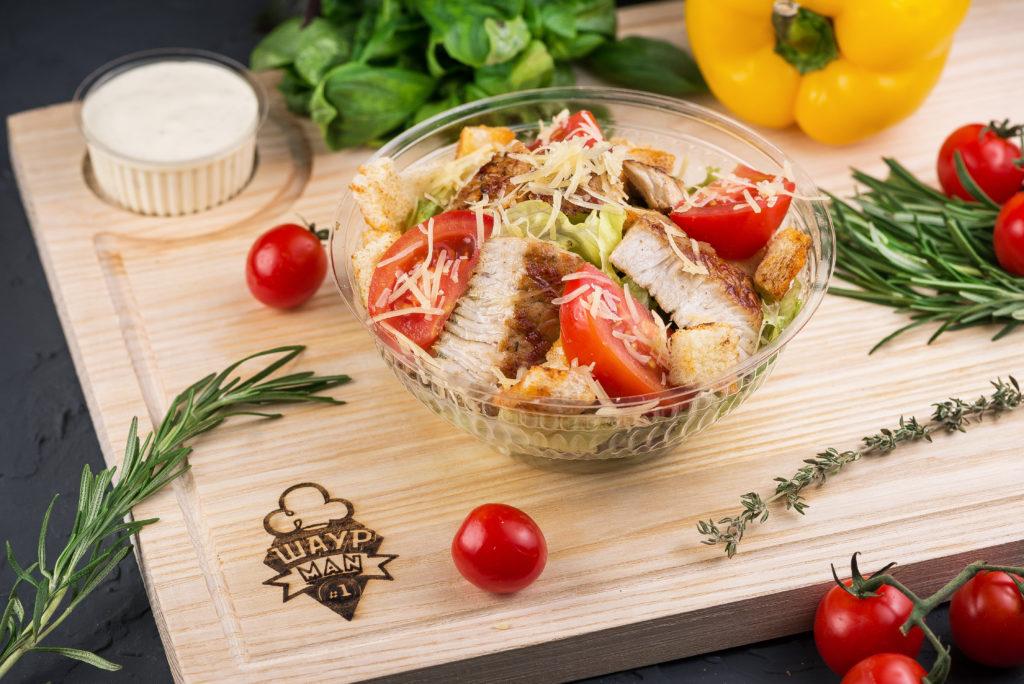 Салат с Индюшкой заказать в MisterSandwich